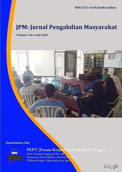 JPM: Jurnal Pengabdian Masyarakat