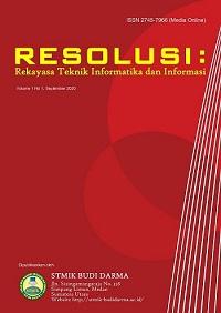Resolusi : Rekayasa Teknik Informatika dan Informasi