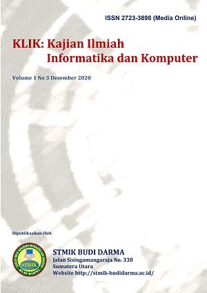 KLIK: Kajian Ilmiah Informatika dan Komputer